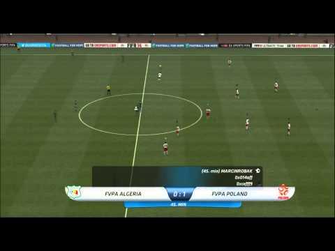 Mistrzostwa Świata FIFA 14 [POLSKA 3-1 ALGIERIA] Cały Mecz!!!