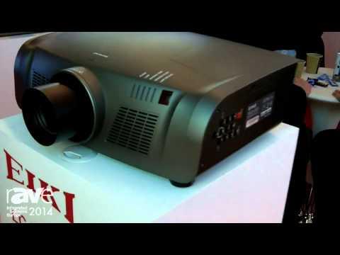 ISE 2014: EIKI Outlines Mid-Range XGA Projector