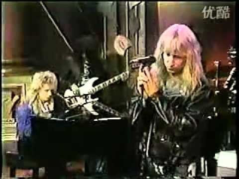 Great White - The Angel Song Live TV Clip - SUPER RARE!!!!