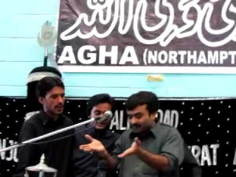 Rutbey Na Puch Malang De - Zakir Qazi Waseem Abbas - Northampton (uk) 2011 video