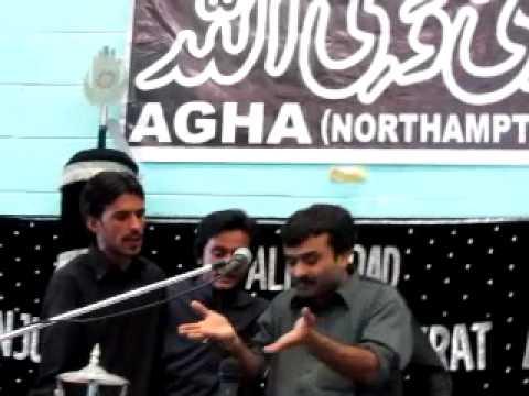 Rutbey Na Puch Malang De - Zakir Qazi Waseem Abbas - Northampton (uk) 2011 video