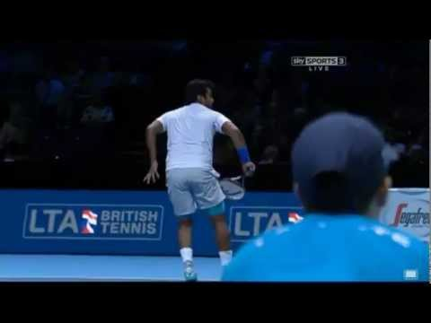 Leander PAES - Gold Tennis Hand