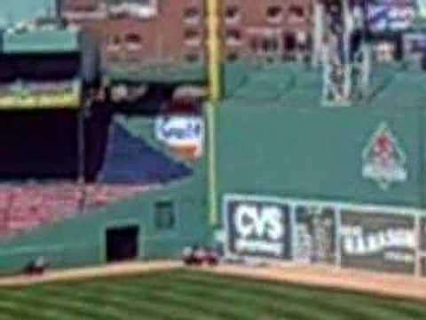 Step into his office -- Fenway Park Video