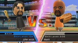 wii sports: john wick vs matt