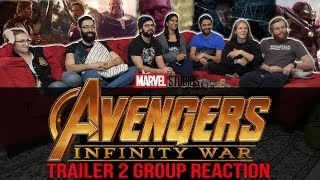 The Avengers: Infinity War Trailer 2 Group Reaction