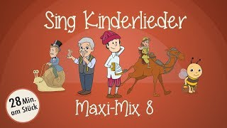 Sing Kinderlieder Maxi-Mix 8: Ri-Ra-Rutsch u.v.m. - Kinderlieder zum Mitsingen   Sing Kinderlieder