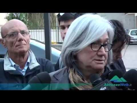 ELEZIONI L'AQUILA, ROSY BINDI ABBRACCIA CIALENTE E PEZZOPANE