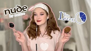 Thin Lizzy Vs. Nude By Nature Make Up Brushes