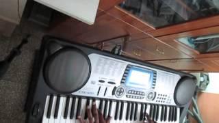 Khuda Jaane Piano Keyboard Cover Bachana Ae Haseeno KK Shilpa Rao