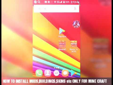 INSTALLING MODS FOR MINECRAFT PE