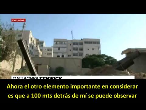 France24: Ahora se atreven a mostrar cohetes disparados desde edificios civiles