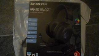 lidl  rgb gaming headset  review