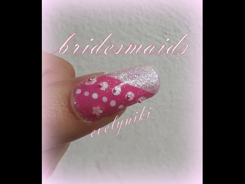 …UñAS PARA BODA ♥ DAMAS DE HONOR ♥ bridesmaids♥ wedding nails♥