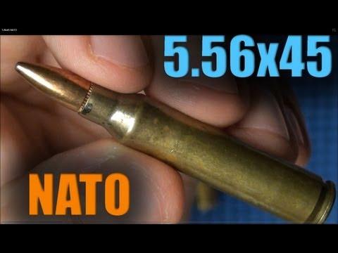 56x45 NATO - 4 Examples