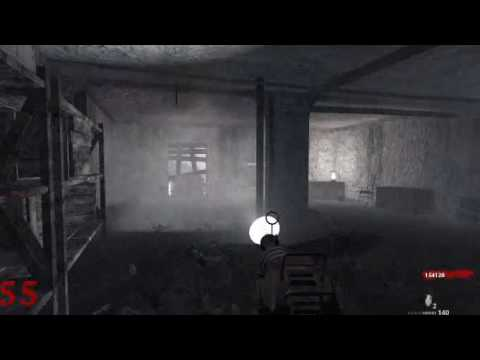 Call of Duty 5 - Zombie SOLO Level 62 (no glitches/cheats) Music Videos