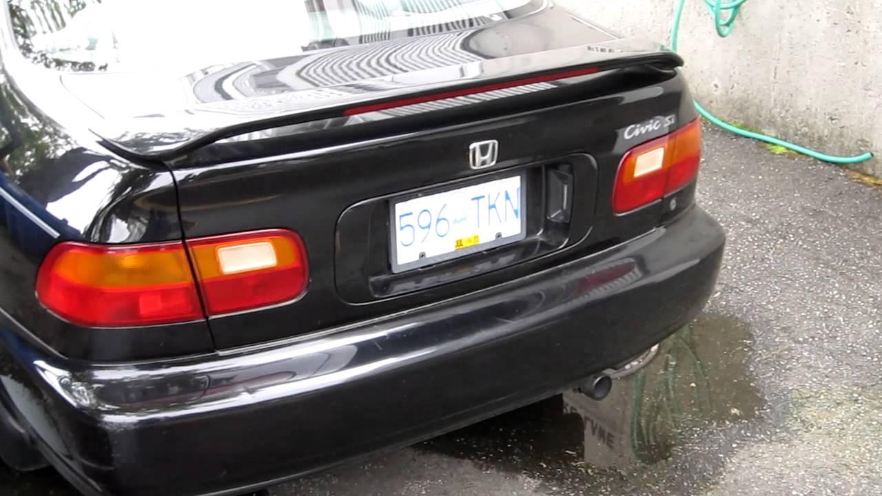 1994 Honda Civic Si Youtube
