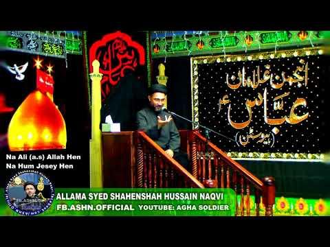 Na Mola Ali (a.s) Allah Hen Na Hum Jesey Hen by Allama Syed Shahenshah Hussain Naqvi