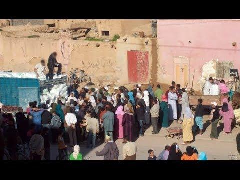 حصري و بالفيديو من قلب شيشاوة  بكاء و صراخ في جنازة إحدى ضحايا فاجعة الصويرة #1