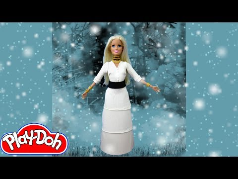 Demi Lovato's Let It Go Play Doh Barbie Costume Makeover Play-Doh Craft N Toys