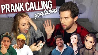 Download Lagu PRANK CALLING YOUTUBERS BUT WE CAN'T HEAR THEM Gratis STAFABAND