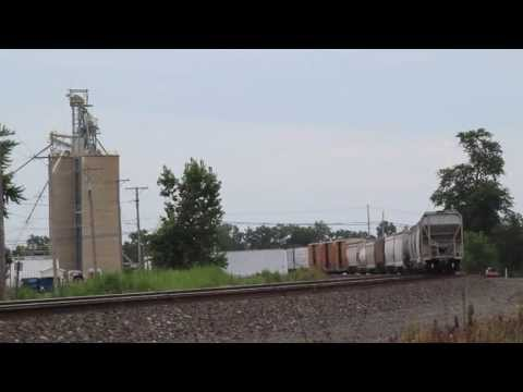 Video #317 - Railfanning in Oak Harbor, OH