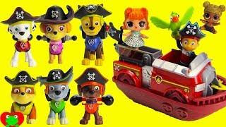 Paw Patrol Pirates Saves Babies, LOL Dolls Ultra RARE Lil Sister, and Hatchimals