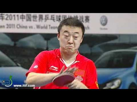 MA Lin CHN vs JOO Se Hyuk KOR. China vs World Team 2011 in Shenzhen Music Videos