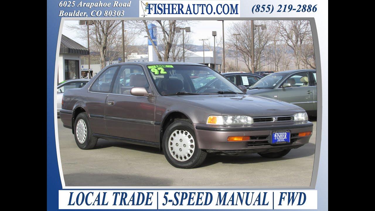used cars under 10 000 1992 honda accord lx gray 2 500