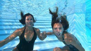 Carla Underwater Talking Underwater