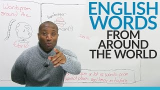 Learn Vocabulary: English words that come from other languages
