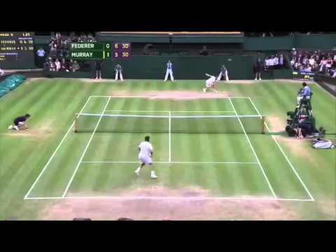 Wimbledon   Full Highlights Roger Federer vs Andy Murray
