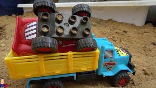 Assembly Disney Pixar Cars 3 Mack Truck For Children | Learn Colors Cars Toy For Kids