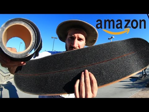 AMAZON FAKE ANTI-SLIP SAFTEY GRIPTAPE | CHEAP SKATES EP 11