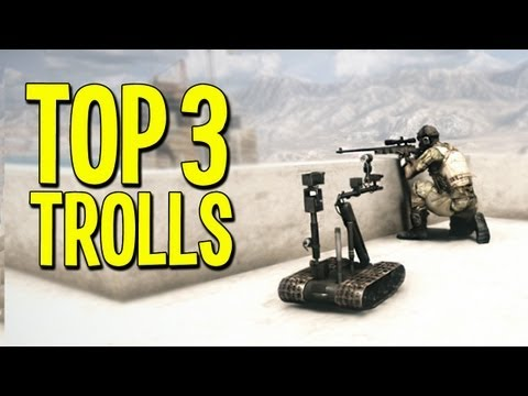 TOP 3 TROLLS! - Battlefield 3 - Ep.1