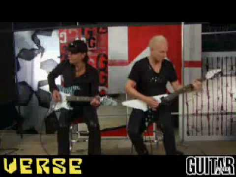 0 Scorpions   Jabs & Schenker Guitar Lesson Part 2 (No One Like You + Rock you like a Hurricane)