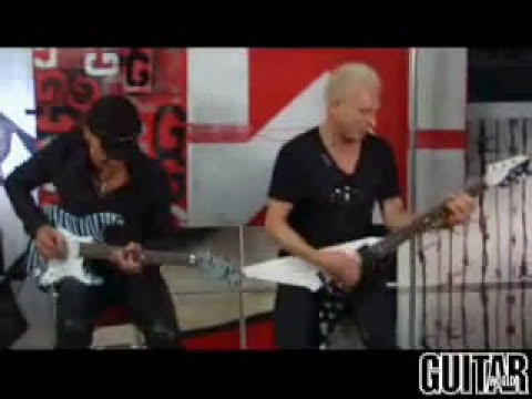 Scorpions - Jabs & Schenker Guitar Lesson Part 2 (No One Like You + Rock you like a Hurricane)