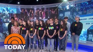 Meet The Marjory Stoneman Douglas High Students Who Rocked The Tonys | TODAY