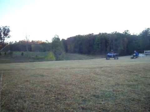 Getting thrown off a 4 wheeler