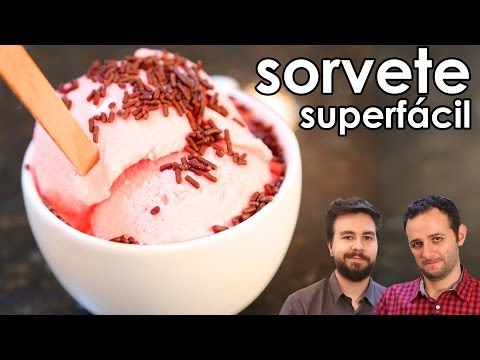 Receita de sorvete caseiro superfácil