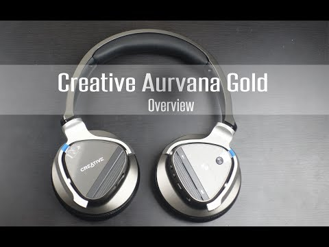 Creative Aurvana Gold Wireless Headset