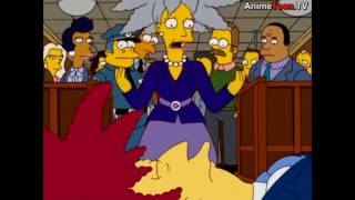 The Simpsons: Sideshow bobs and funeral [Clip]