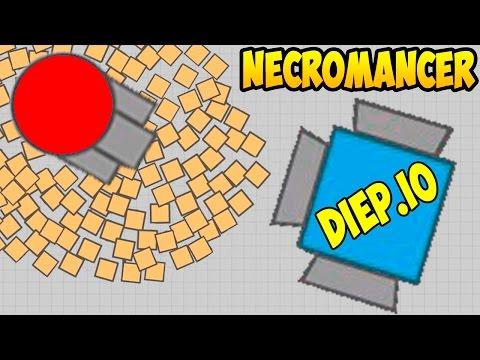 Diep.io |  НЕКРОМАНСЕР | КАК ИГРАТЬ | New Class Necromancer Diep
