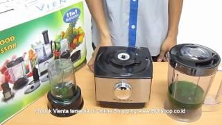 Vienta - Tips Cara Penggunaan Vienta Food Processor