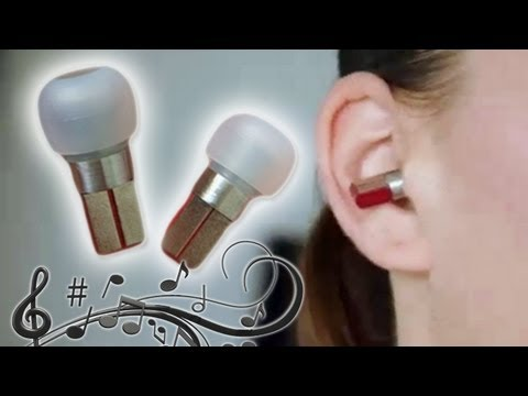 Wireless MP3 earbuds player controlled by clicking your teeth