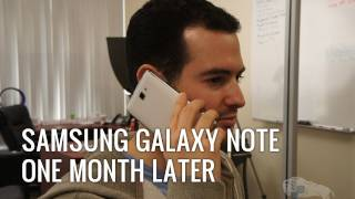 Samsung Galaxy Note: 1 Month Later (Review)
