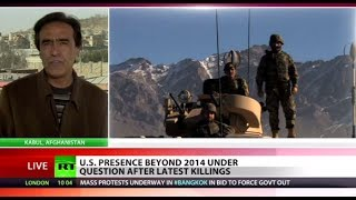 'No sign US able to solve security disaster in (Afghanistan)  1/16/14