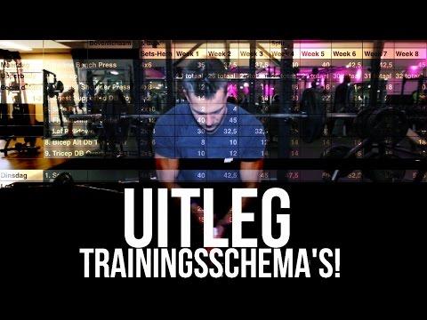 trainingsschema afvallen