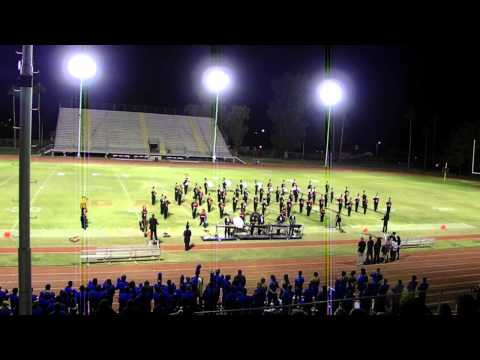 Glendale High School Marching Band Clip 2 Guhsd Exhibition At Gcc 28oct13 video