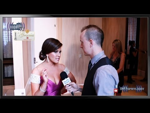 Robin Meade on inD-TV @ The Gracies 2014
