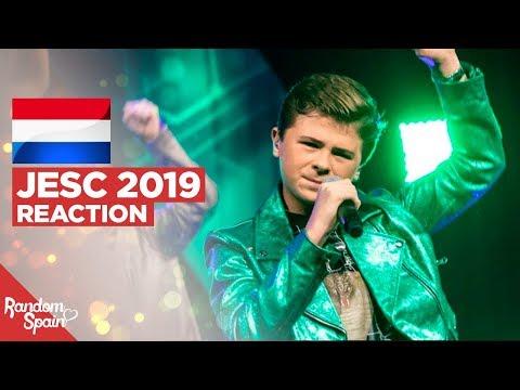REACTION Matheu - Dans met jou | The Netherlands Junior Eurovision 2019